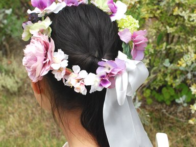Flower girl</p>ピンクラナンキュラス