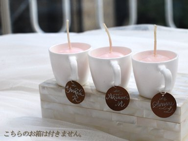 Candle relay カップ
