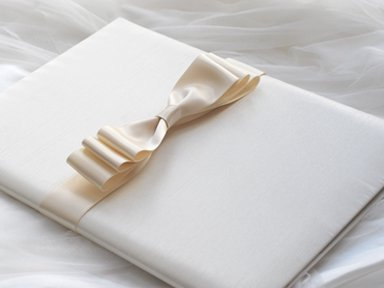 Marriage certificate E</p>サテンリボン