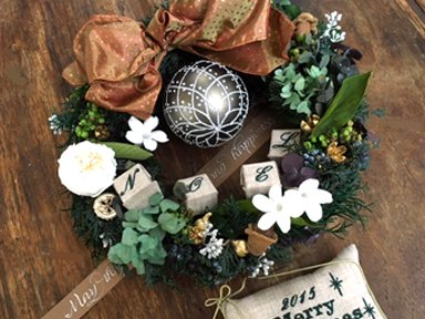 <img class='new_mark_img1' src='https://img.shop-pro.jp/img/new/icons48.gif' style='border:none;display:inline;margin:0px;padding:0px;width:auto;' />Christmas wreath 3</p>ボックス