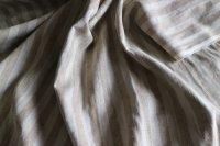 幅135�厚手帆布ストライプ(×濃ベージュ)