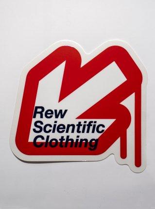 r Arrow logo sticker08 / red x white