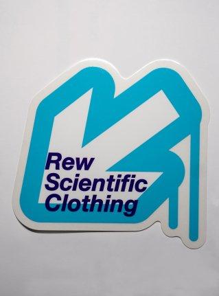 r Arrow logo sticker08 / Blue x White x Navy