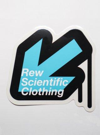 r Arrow logo sticker08 / Black x Blue