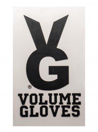v VG Bunny sticker08 (die cut)  Black