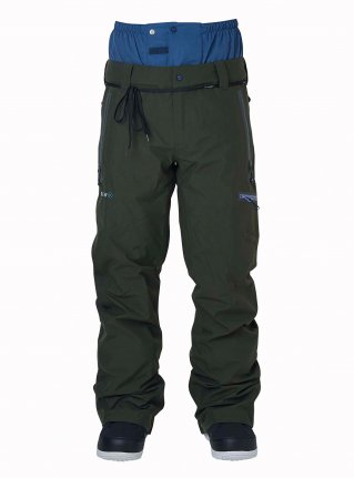 21-22先行予約商品 r STRIDER PANTS 18 STRAIGHT FIT [ GORE-TEX ]   ARMY 展示サンプル Mサイズ