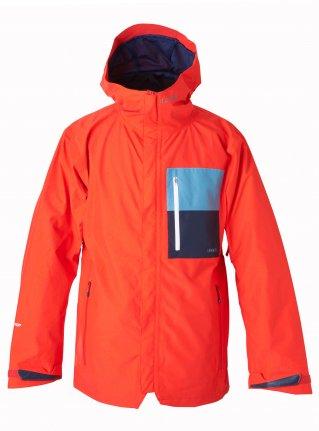KAMIKAZE F+LIGHT JKT [GORE-TEX ] RED x D-BLUE x P-NAVY 展示サンプル Mサイズ