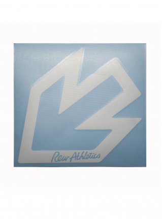 r New Arrow logo sticker 14 (die cut) / White