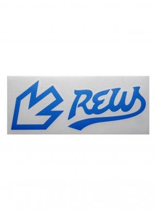 r F LIGHT LINE sticker (die cut)  Blue