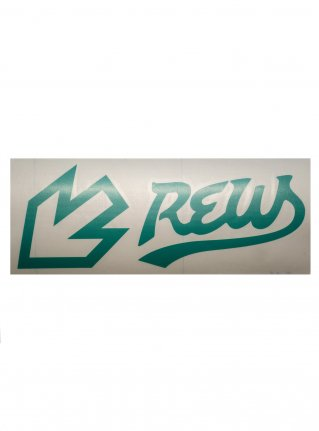 r F LIGHT LINE sticker (die cut) Green
