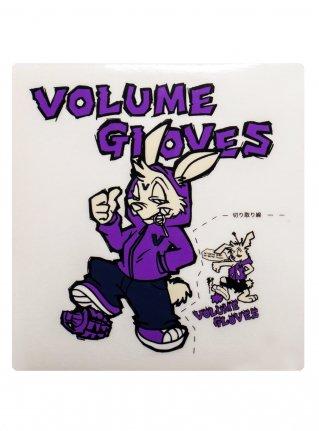 v Bomb Sticker / Purple