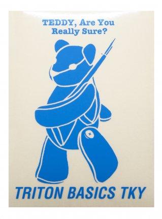 t TEDDY  Sticker /  SKY