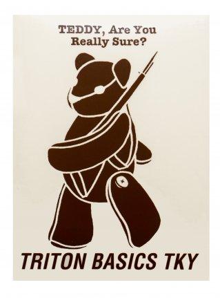 t TEDDY  Sticker /  Brown