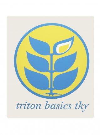 t Circle Logo Sticker09 / Lemon x Sky