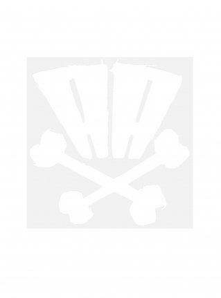 r AA bones sticker09 (die cut)  White 中