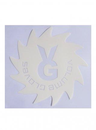 v Wheel Sticker09 (die cut)  White