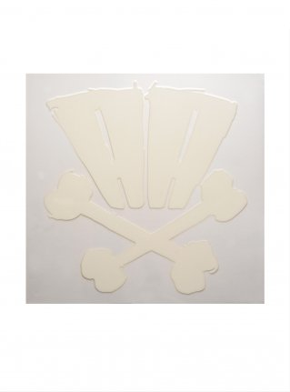 r AA bones sticker09 (die cut)  White