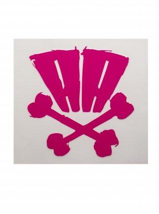 r AA bones sticker09 (die cut)  R-Pink
