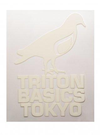 t Pigeon Diecut sticker09  (die cut)  White
