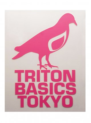 t Pigeon Diecut sticker09  (die cut)   Pink