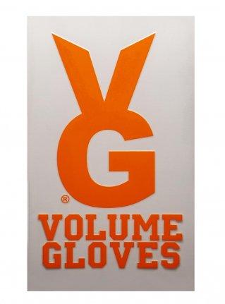 v VG bunny sticker09 (die cut)  Orange