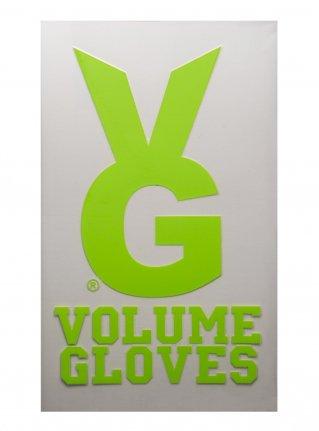 v VG bunny sticker09 (die cut)  R-Green