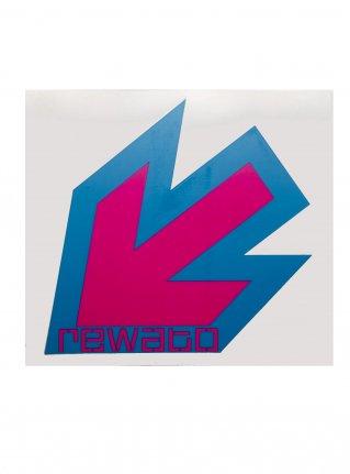 r New Arrow logo sticker10 (die cut)  blue x pink