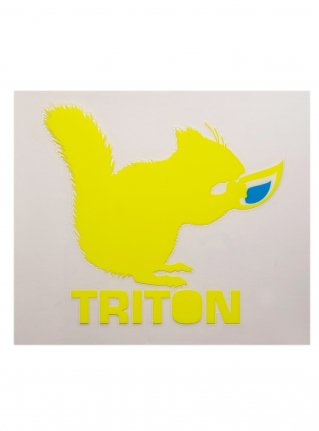 t Chipmunk Sticker10 (die cut)  Yellow