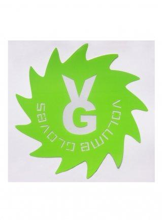 v Wheel Sticker11 (die cut)  R-Green