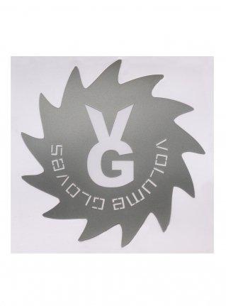 v Wheel Sticker11 (die cut)  Silver