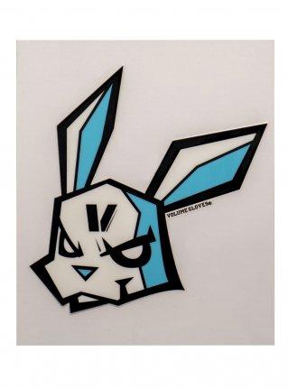 v Bunny sticker12 (die cut) Black x Sky
