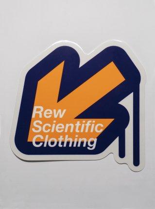 r Arrow logo sticker / Orange