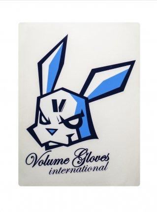 v Bomb Sticker / Navy x Blue