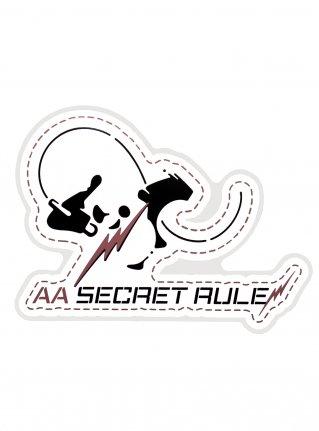 AA Rock Panda Sticker / Pink