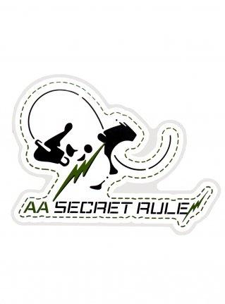 AA Rock Panda Sticker / Green