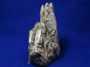 アフガニスタン産成長干渉水晶クラスター アクチノライト、トレモライト