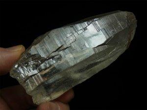 シガール産 ヒマラヤ水晶 カテドラル、微細なトライゴーニック、イシス