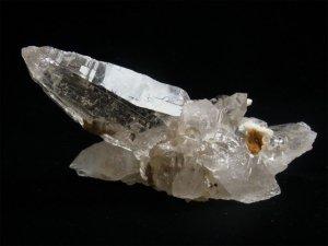 ガネーシュヒマール産ヒマラヤ水晶クラスター 両剣カテドラル、蝕象水晶、トライゴーニック