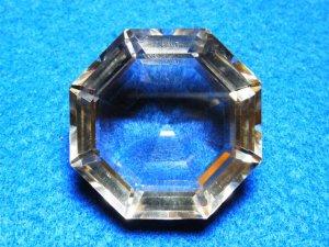 水晶ダイヤカット スモーキークォーツ
