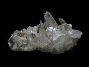 ガネーシュヒマール産ヒマラヤ水晶クラスター レコードキーパー、イシス、トレモナイト 266g