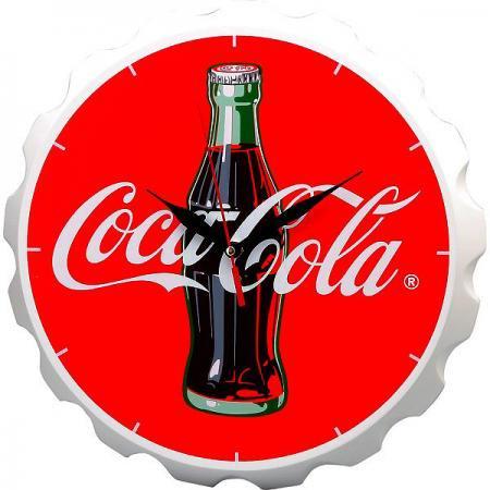 【991406】コカ・コーラ ボトルキャップ型壁掛け時計