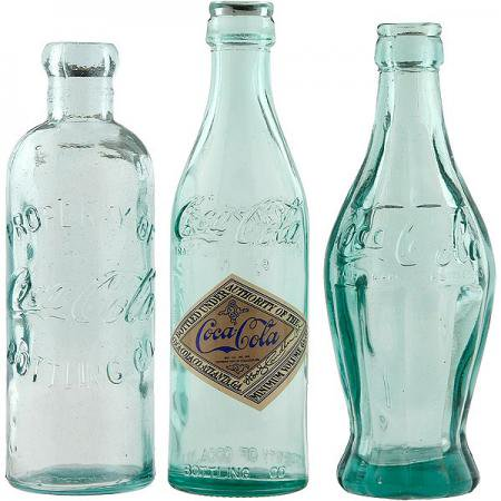 【991407】コカ・コーラ ボトルコレクションボックスセット