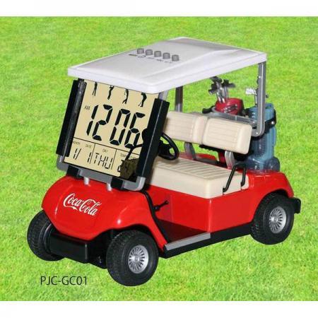 【990950】コカ・コーラ ゴルフカートクロック