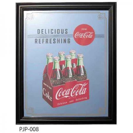 【990945】コカ・コーラ パブミラーⅡ