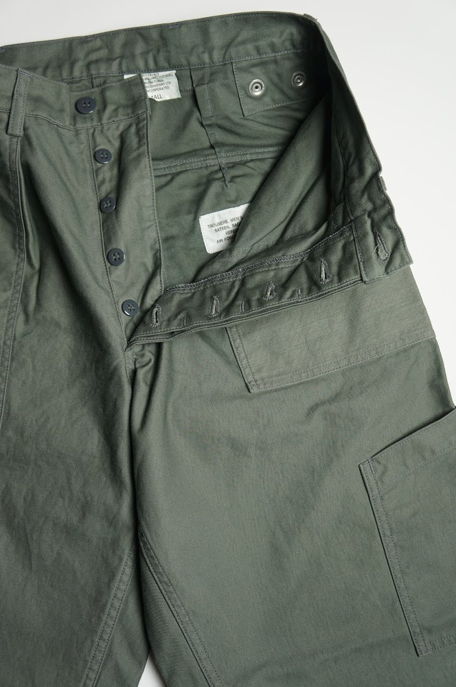 Workers Air Force Baker Standard-Fit フロント
