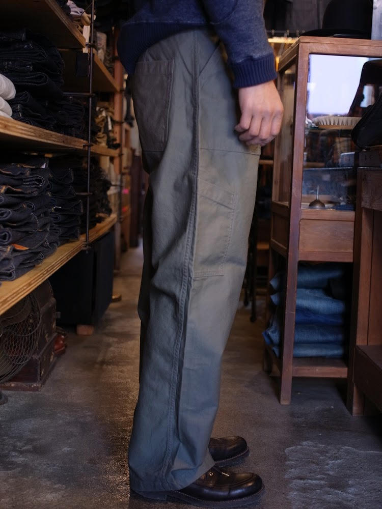 Workers Air Force Baker Standard-Fit 着用
