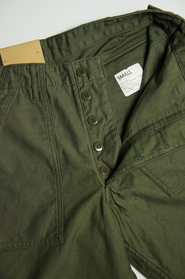 Workers Baker Pants,Standard Fit,OD フロント