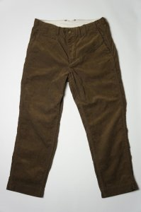 WORK TROUSERS(BROWN CORDUROY)