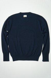 Organic Cotton Sweater,Navy