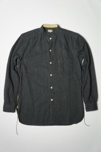 GRANDAD SHIRT(COTTON HOMESPUN)